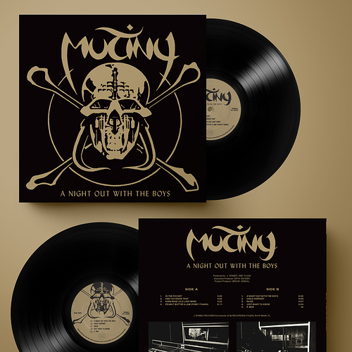 Mutiny A Night Out With The Boys - Black