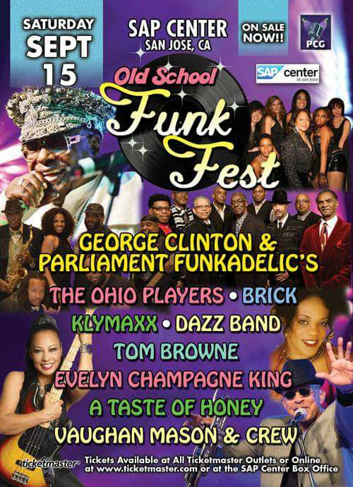 George Clinton with Parliament/Funkadelic to headline a Funk